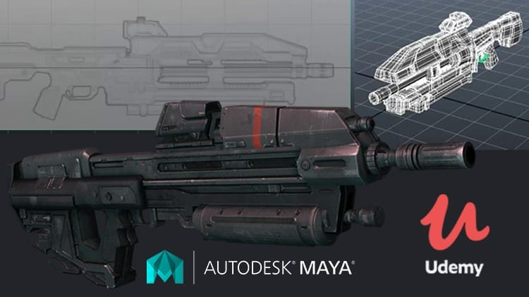 MAYA MASTER CLASSES : Asset Modeling for Game & Animation