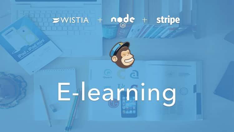 Learn Node.js by building Udemy: Stripe + MailChimp + Wistia