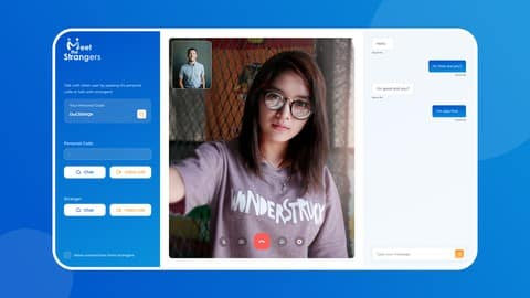WebRTC 2021 Practical Course. Create Video Chat Application